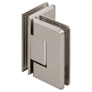 Pluto Adjustable 90 Degree Glass-to-Glass Beveled Shower Hinge