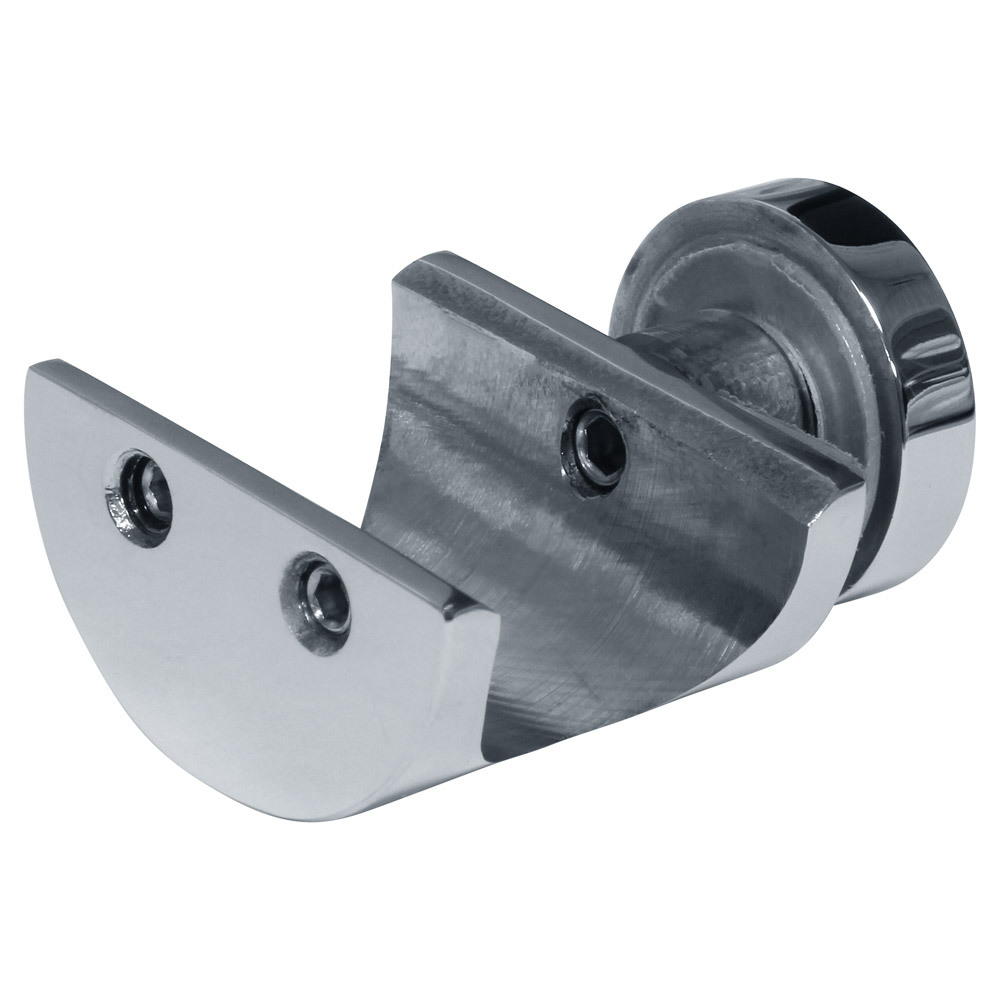 Metro Fixed Glass Mount Clamp, 25mm Diameter