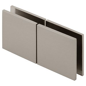 Square 180 Degree Glass-to-Glass Movable Transom Clamp
