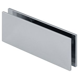 Square 180 Degree Glass-to-Glass Clamp