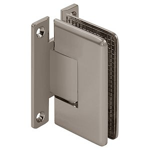 "Pluto Wall Mount Beveled ""H"" Back Shower Hinge"