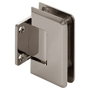 Pluto Wall Mount Beveled Short Back Shower Hinge