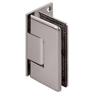 Pluto Adjustable Wall Mount Beveled Offset Back Shower Hinge