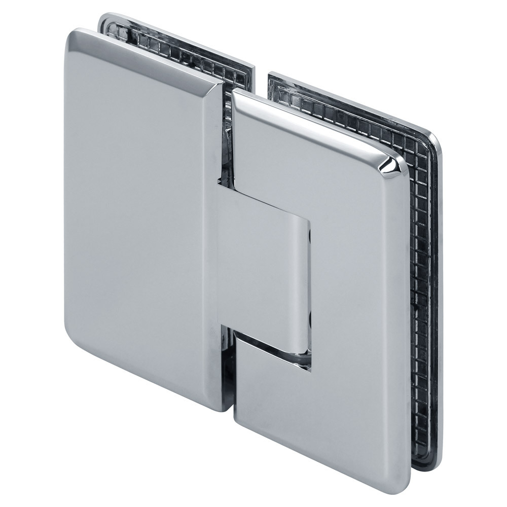Pluto Adjustable 180 Degree Glass-to-Glass Beveled Shower Hinge