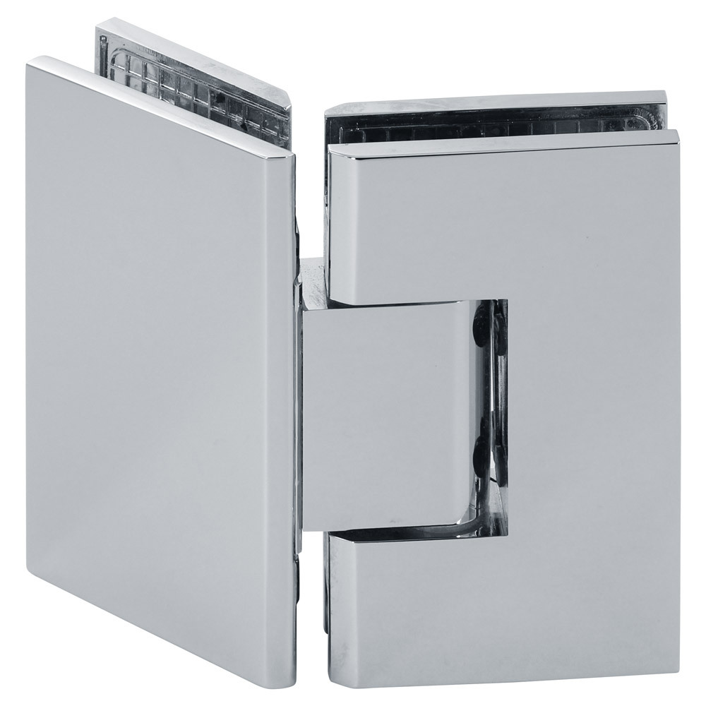 Venus 135 Degree Glass-to-Glass Square Shower Hinge
