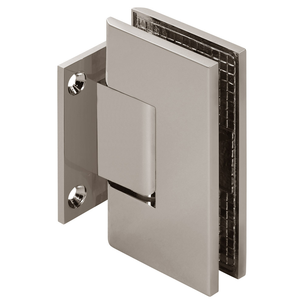 Venus Adjustable Wall Mount Square Short Back Shower Hinge