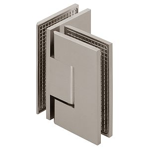 Venus Adjustable 90 Degree Glass-to-Glass Square Shower Hinge