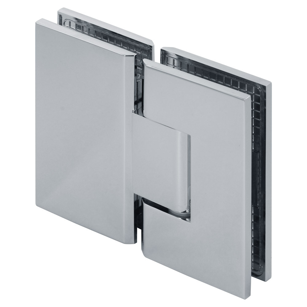 Venus 180 Degree Glass-to-Glass Square Shower Hinge