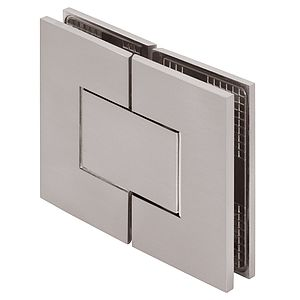 Venus 180 Degree Glass-to-Glass Square Zero Position Adjustable Shower Hinges