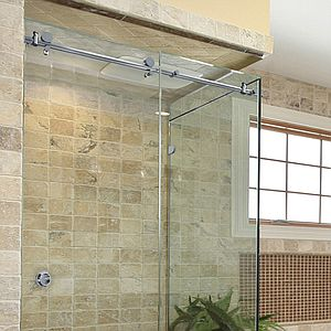 Metro Sliding Shower Door Header Kit