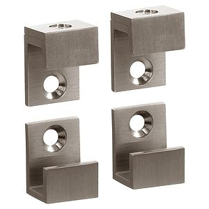 """5/8"""" Wide Mirror Clips For 1/4"""" (6mm) Mirrors"""