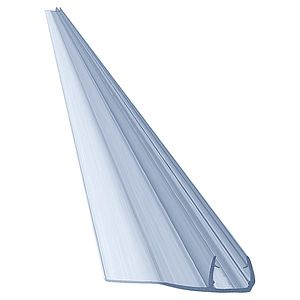 "80"" PVC Seal, Soft Edge, 32mm for 3/8"" (10mm) Glass"