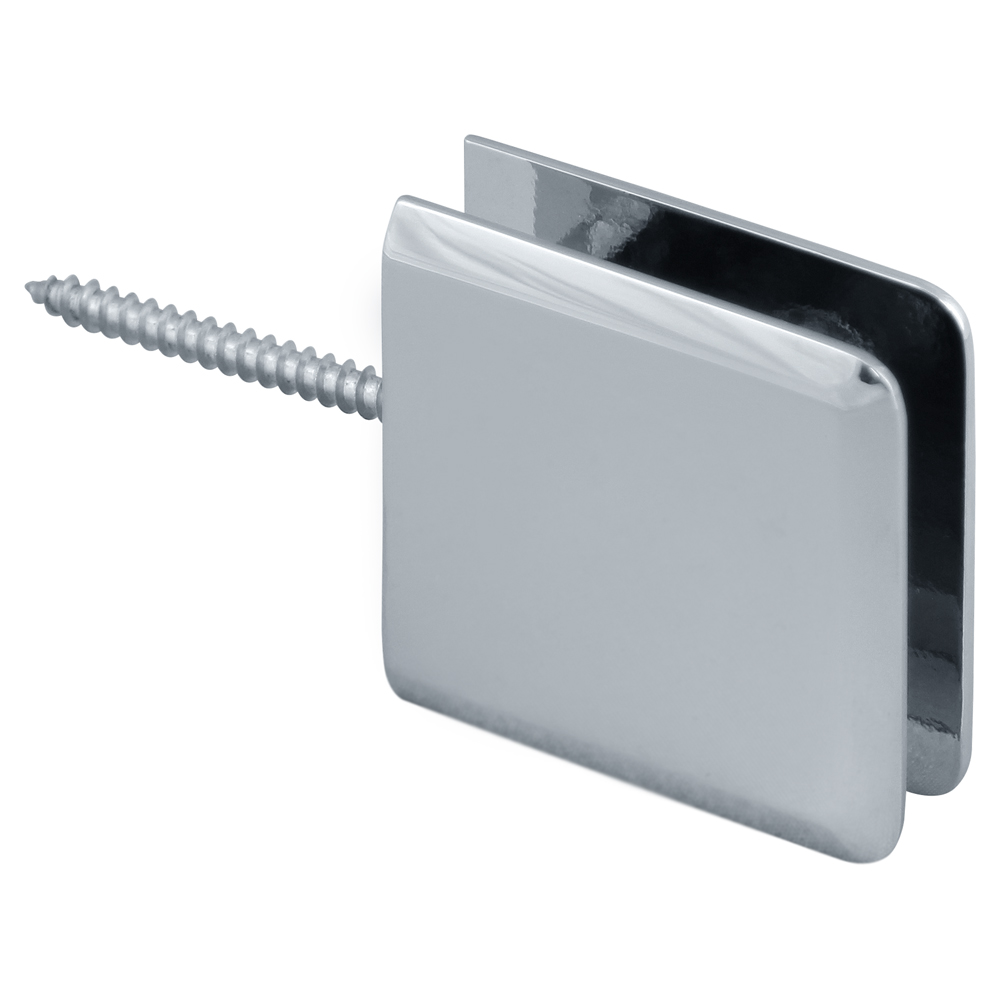 Beveled Wall Mount Movable Transom Clamp
