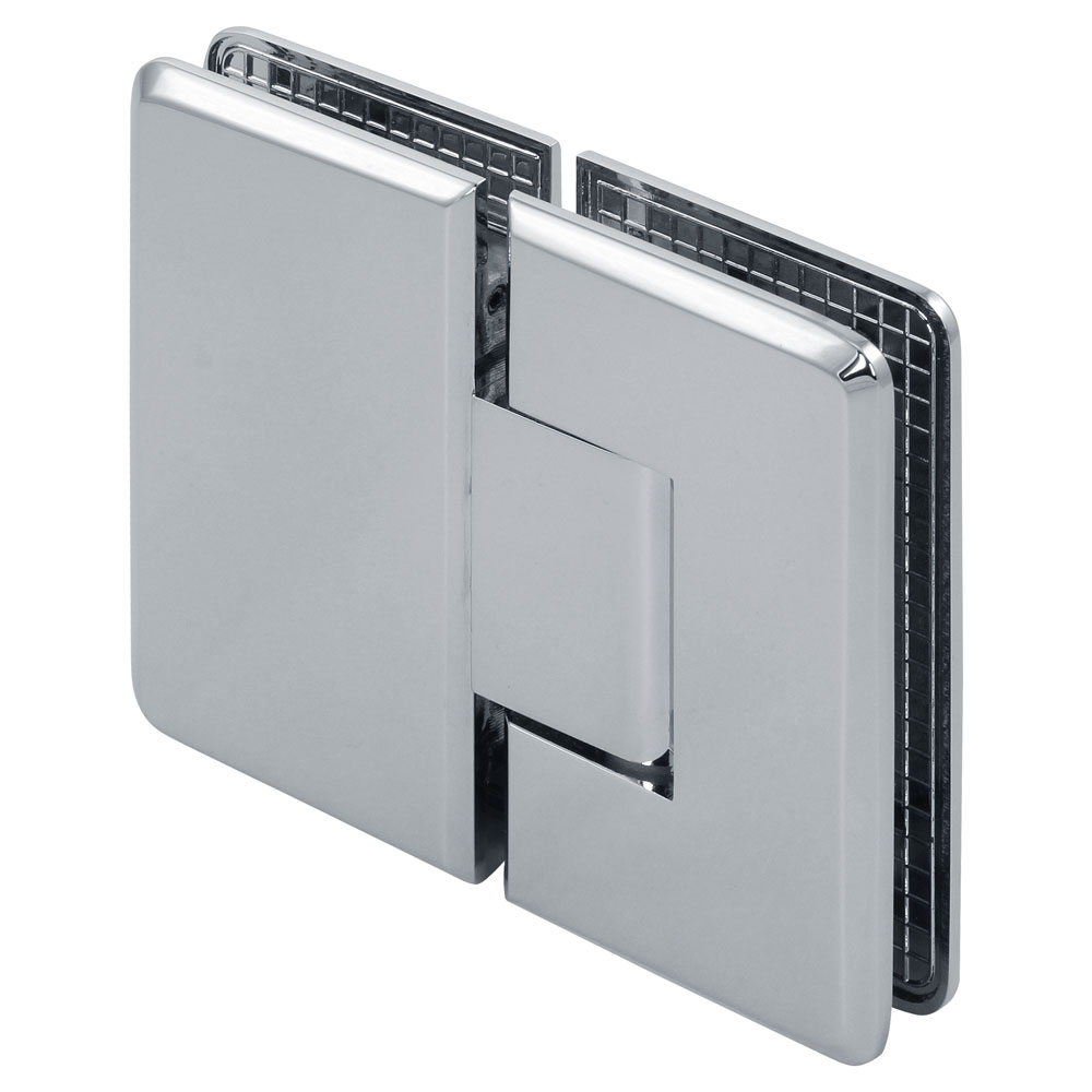 Pluto 180 Degree Glass-to-Glass Beveled Shower Hinge