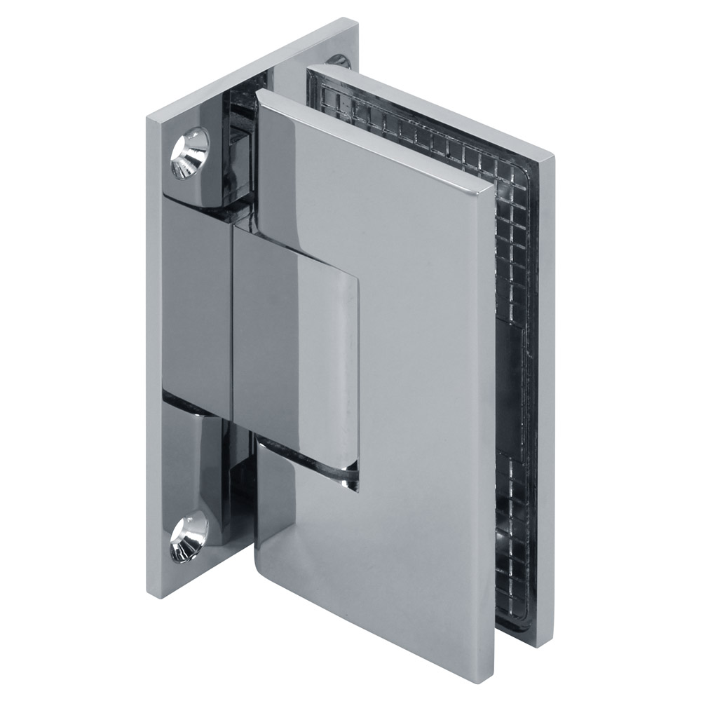 Venus Adjustable Wall Mount Square Full Back Shower Hinge