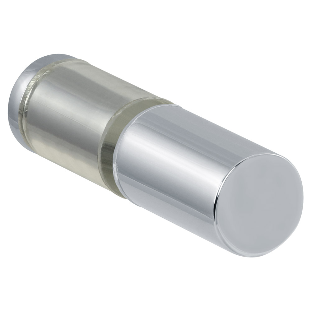 """Cylinder Style Back to Back Knob, 3/4"""" (19 mm) Diameter with Plastic Sleeve"""